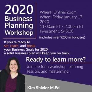 Image reading times for 2020 Business Planning Workshop - 1/17/20 11:00am ET